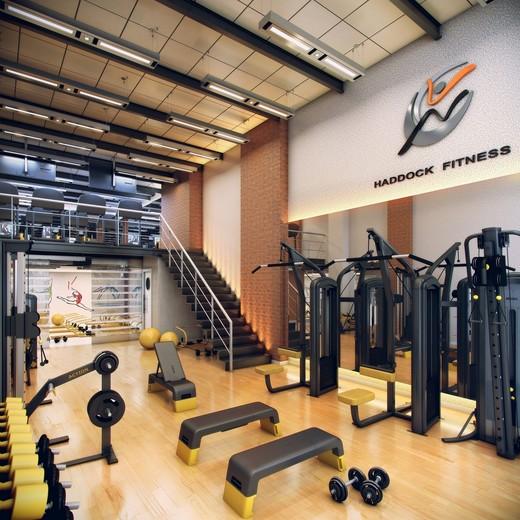 Fitness - Fachada - Haddock Business - Lojas - 1306 - 4