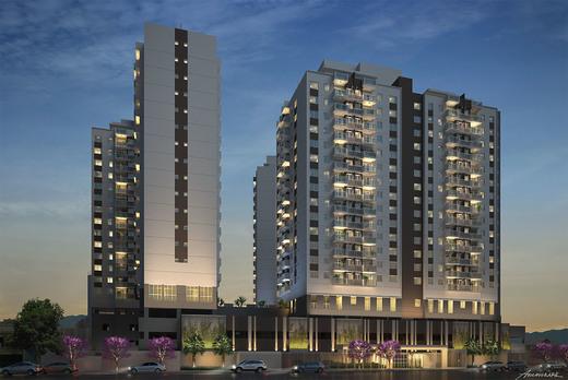 Fachada - Cobertura 2 quartos à venda Cachambi, Rio de Janeiro - R$ 696.700 - II-5385-13278 - 1