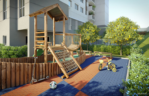 Playground - Cobertura 2 quartos à venda Cachambi, Rio de Janeiro - R$ 696.700 - II-5385-13278 - 13