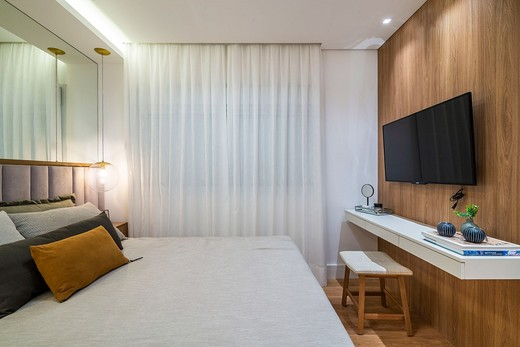 Dormitorio - Fachada - Vista Parque Villa Lobos - 629 - 6