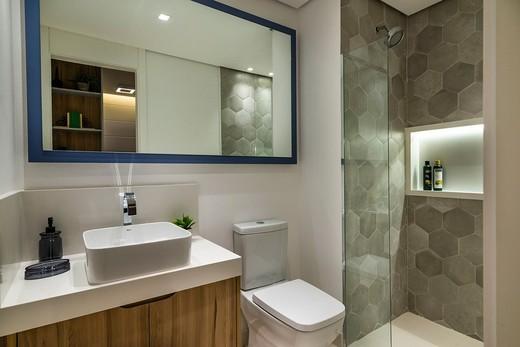 Banheiro - Fachada - Vista Parque Villa Lobos - 629 - 7