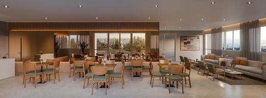Salao de festas - Fachada - Vista Parque Villa Lobos - 629 - 8