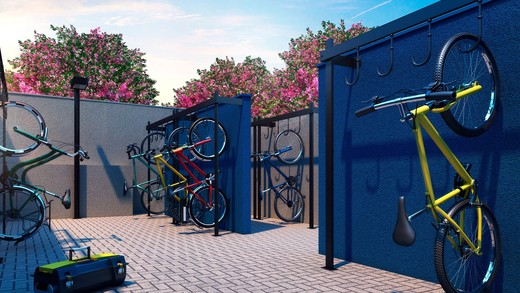 Bicicletario - Fachada - Vibra Barra Funda - 630 - 10
