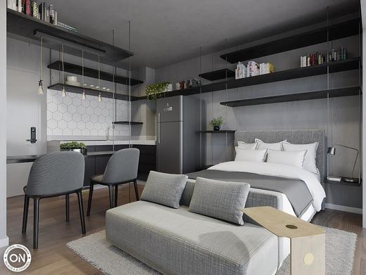 Dormitorio - Fachada - ON Melo Alves - Residencial - 631 - 4