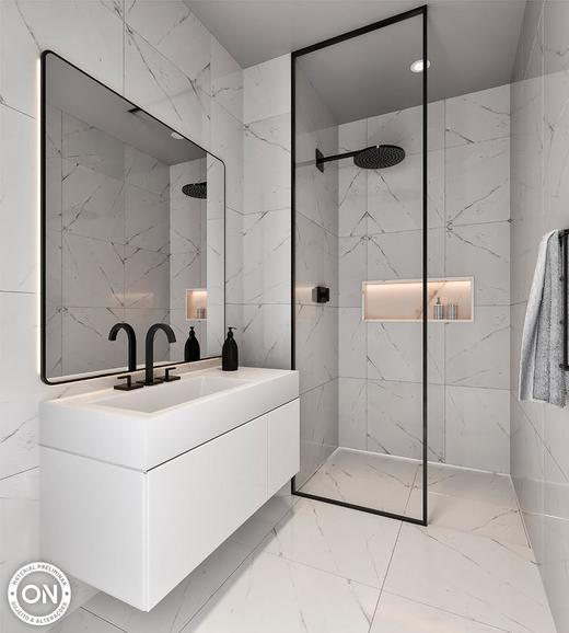 Banheiro - Fachada - ON Melo Alves - Residencial - 631 - 5