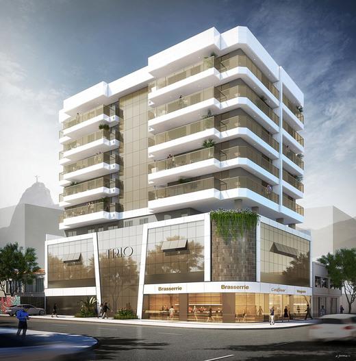 Fachada - Apartamento 3 quartos à venda Botafogo, Rio de Janeiro - R$ 1.499.000 - II-5434-13423 - 1