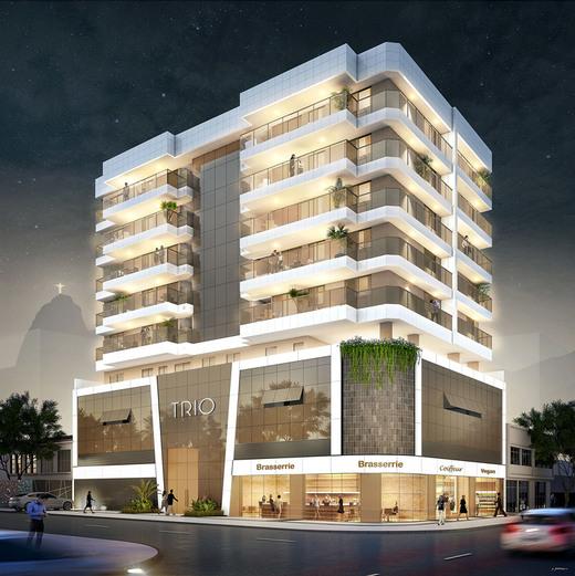 Fachada - Apartamento 3 quartos à venda Botafogo, Rio de Janeiro - R$ 1.499.000 - II-5434-13423 - 3