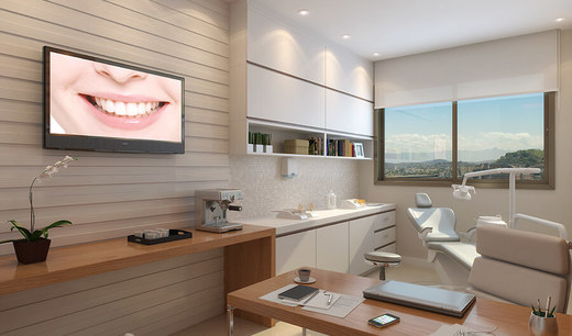 Exemplo sala - Fachada - Madureira Office Park - 348 - 12