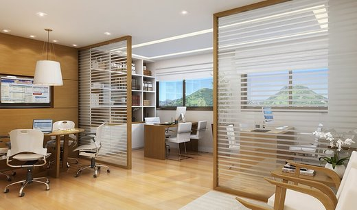 Exemplo sala - Fachada - Madureira Office Park - 348 - 13