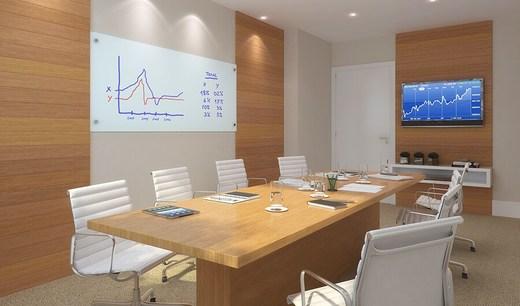 Sala de reuniao - Fachada - Madureira Office Park - Lojas - 1231 - 11