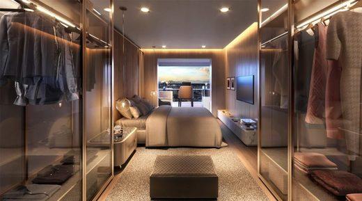 Dormitorio - Fachada - One Park Perdizes - 537 - 5