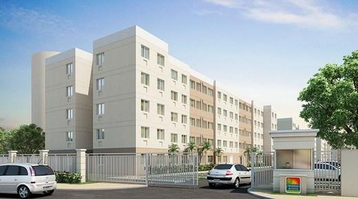 Fachada - Apartamento 3 quartos à venda Vargem Pequena, Rio de Janeiro - R$ 224.173 - II-5497-13552 - 1