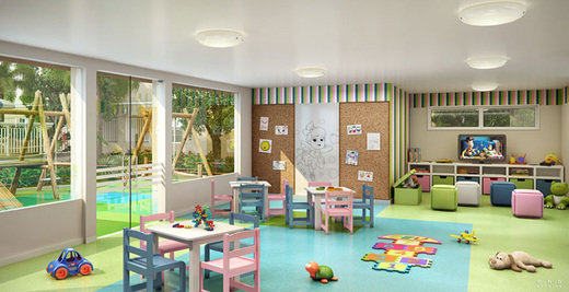 Espaco kids - Apartamento 3 quartos à venda Vargem Pequena, Rio de Janeiro - R$ 224.173 - II-5497-13552 - 5