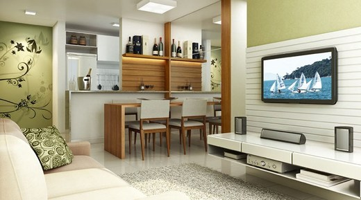 Living - Apartamento 3 quartos à venda Vargem Pequena, Rio de Janeiro - R$ 224.173 - II-5497-13552 - 3