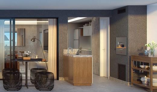 Varanda - Fachada - Raro Design Residence - 71 - 5