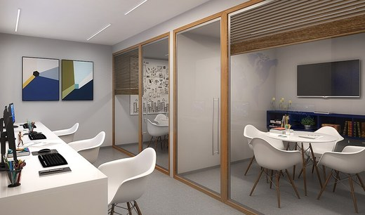 Home office - Fachada - Urban Boutique Apartaments - Lojas - 73 - 3