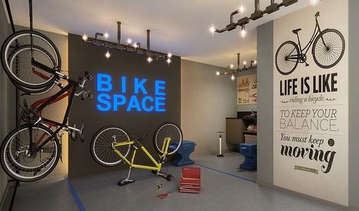 Bicicletario - Fachada - Urban Boutique Apartaments - Lojas - 73 - 4