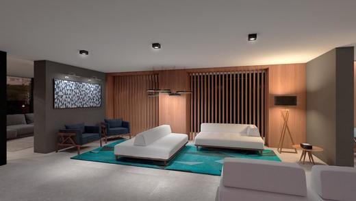 Living social - Studio à venda Rua Venâncio Aires,Perdizes, São Paulo - R$ 410.348 - II-5501-13559 - 13