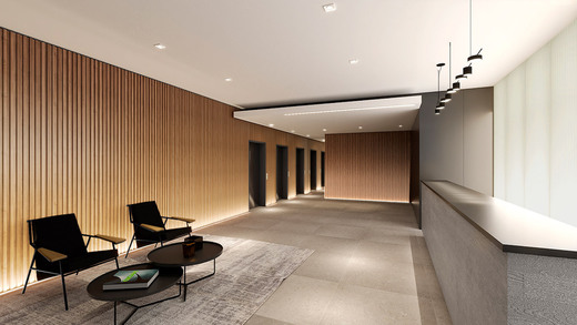 Hall social - Studio à venda Rua Venâncio Aires,Perdizes, São Paulo - R$ 410.348 - II-5501-13559 - 4