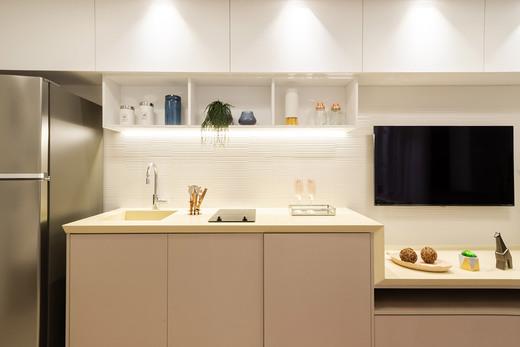 Cozinha decorado - Studio à venda Rua Venâncio Aires,Perdizes, São Paulo - R$ 410.348 - II-5501-13559 - 8