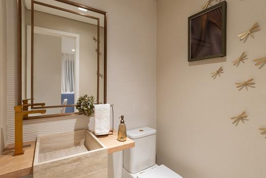 Banheiro decorado - Studio à venda Rua Venâncio Aires,Perdizes, São Paulo - R$ 410.348 - II-5501-13559 - 9