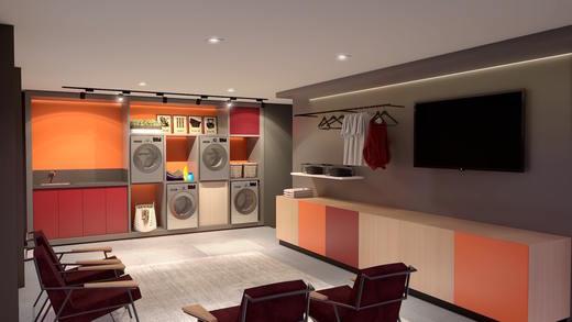 Lavanderia - Studio à venda Rua Venâncio Aires,Perdizes, São Paulo - R$ 410.348 - II-5501-13559 - 18