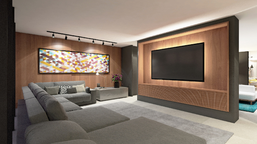 Home theater - Studio à venda Rua Venâncio Aires,Perdizes, São Paulo - R$ 410.348 - II-5501-13559 - 16
