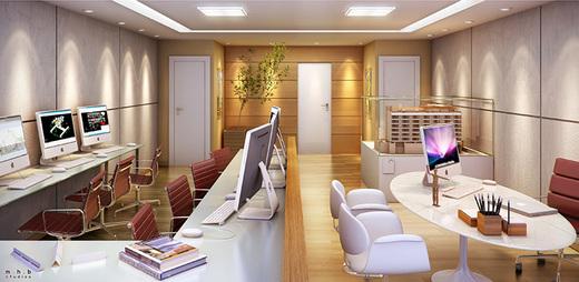 Exemplo sala - Sala Comercial 22m² à venda Campo Grande, Rio de Janeiro - R$ 115.506 - II-5508-13573 - 5