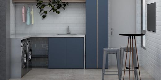 Lavanderia - Fachada - Next Home Design - 636 - 17