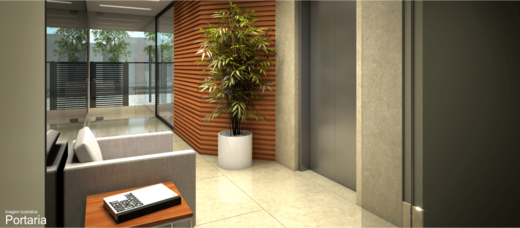 Hall - Apartamento 1 quarto à venda Grajaú, Rio de Janeiro - R$ 314.150 - II-5545-13643 - 3