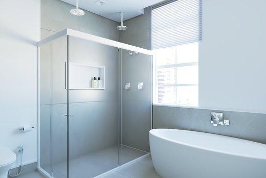 Banheiro - Apartamento à venda Alameda Jaú,Jardim América, São Paulo - R$ 3.380.000 - II-4644-11928 - 3