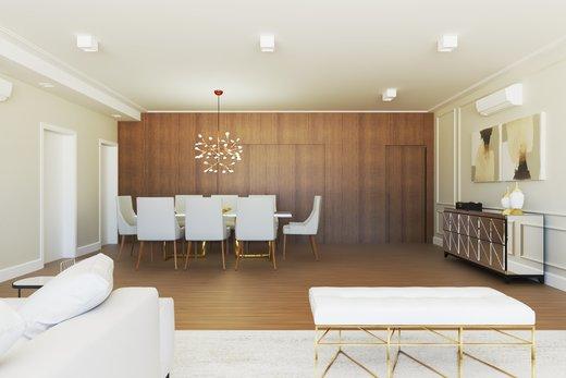 Living - Apartamento à venda Alameda Jaú,Jardim América, São Paulo - R$ 3.380.000 - II-4644-11928 - 6