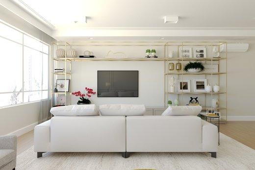Living - Apartamento à venda Alameda Jaú,Jardim América, São Paulo - R$ 3.380.000 - II-4644-11928 - 7