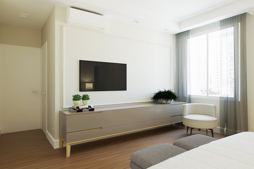 Quarto principal - Apartamento à venda Alameda Jaú,Jardim América, São Paulo - R$ 3.380.000 - II-4644-11928 - 9