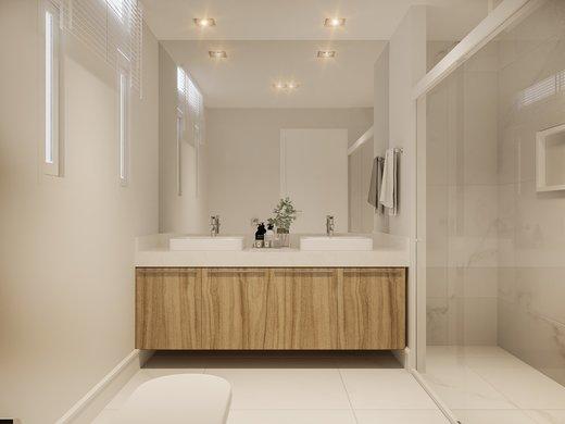 Banheiro - Apartamento à venda Rua José Maria Lisboa,Jardim América, São Paulo - R$ 3.190.000 - II-4649-11933 - 3