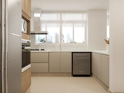Cozinha - Apartamento à venda Rua José Maria Lisboa,Jardim América, São Paulo - R$ 3.190.000 - II-4649-11933 - 5