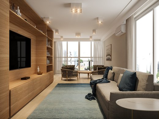 Living - Apartamento à venda Rua José Maria Lisboa,Jardim América, São Paulo - R$ 3.190.000 - II-4649-11933 - 6
