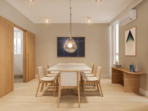 Living - Apartamento à venda Rua José Maria Lisboa,Jardim América, São Paulo - R$ 3.190.000 - II-4649-11933 - 7
