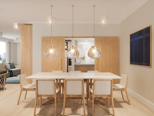 Living - Apartamento à venda Rua José Maria Lisboa,Jardim América, São Paulo - R$ 3.190.000 - II-4649-11933 - 8