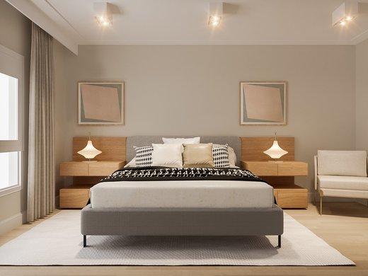 Quarto principal - Apartamento à venda Rua José Maria Lisboa,Jardim América, São Paulo - R$ 3.190.000 - II-4649-11933 - 9