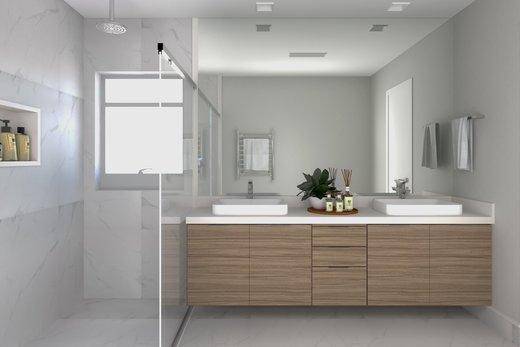 Banheiro - Apartamento à venda Rua Jaques Félix,Vila Nova Conceição, Zona Sul,São Paulo - R$ 3.410.000 - II-4733-12017 - 9