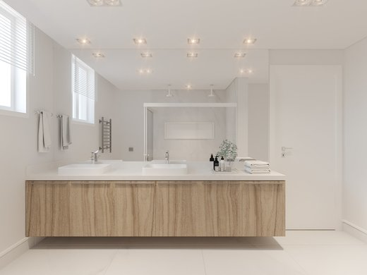 Banheiro - Apartamento à venda Alameda Franca,Jardim América, São Paulo - R$ 3.900.000 - II-4772-12056 - 1