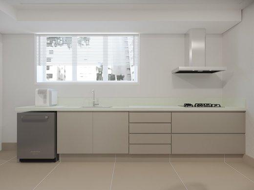 Cozinha - Apartamento à venda Alameda Franca,Jardim América, São Paulo - R$ 3.900.000 - II-4772-12056 - 4