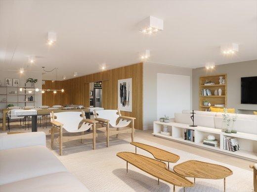 Living - Apartamento à venda Alameda Franca,Jardim América, São Paulo - R$ 3.900.000 - II-4772-12056 - 5