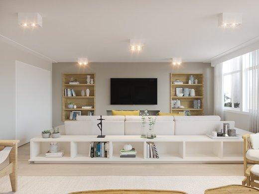 Living - Apartamento à venda Alameda Franca,Jardim América, São Paulo - R$ 3.900.000 - II-4772-12056 - 7