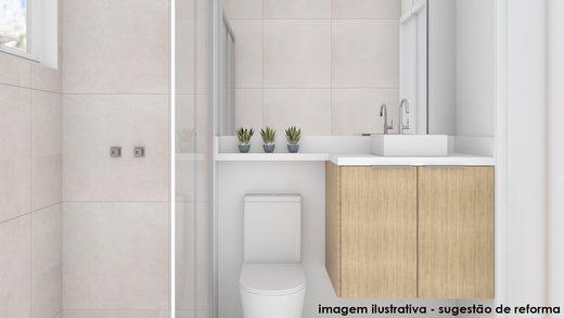Banheiro - Apartamento à venda Rua Fidalga,Vila Madalena, São Paulo - R$ 1.017.000 - II-5746-13960 - 3