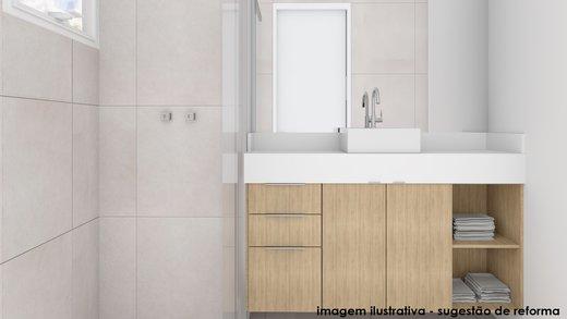 Banheiro - Apartamento à venda Rua Fidalga,Vila Madalena, São Paulo - R$ 1.017.000 - II-5746-13960 - 4