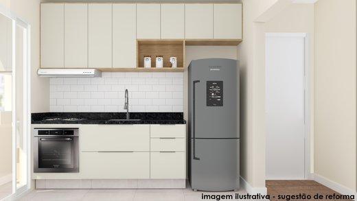 Cozinha - Apartamento à venda Rua Fidalga,Vila Madalena, São Paulo - R$ 1.017.000 - II-5746-13960 - 5