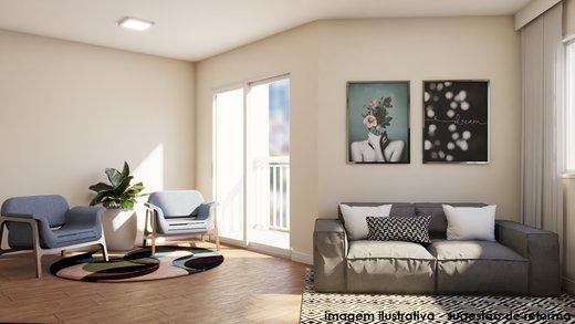 Living - Apartamento à venda Rua Fidalga,Vila Madalena, São Paulo - R$ 1.017.000 - II-5746-13960 - 6