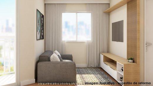 Living - Apartamento à venda Rua Fidalga,Vila Madalena, São Paulo - R$ 1.017.000 - II-5746-13960 - 7